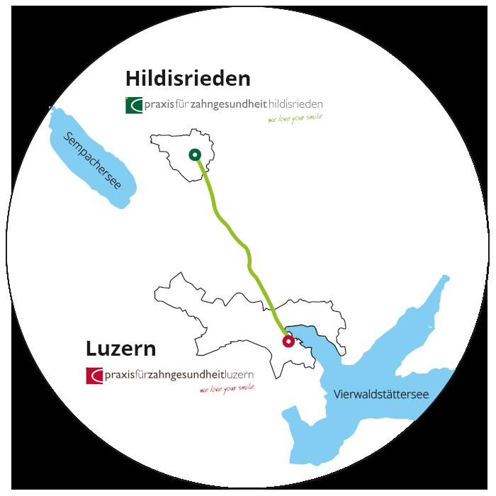 Zahnarztpraxis Dr. Büttner in Luzern und Hildisrieden